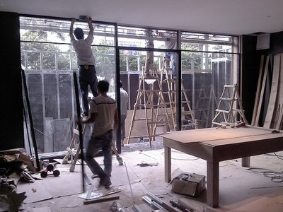 玻璃門維修5