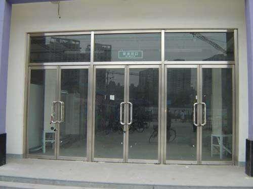 玻璃門維修1