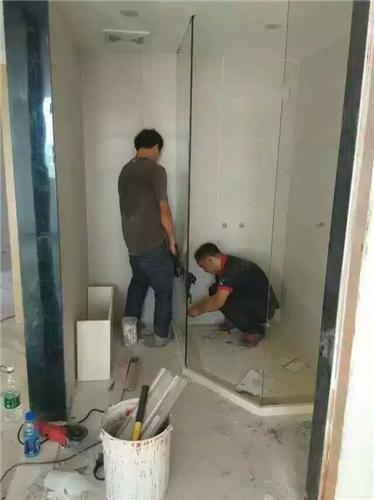 玻璃門維修3